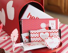 Adorable Valentine's Day candy bar wrappers