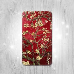 Red Blossoming Almond Tree Van Gogh Gadget by Lantadesign on Etsy