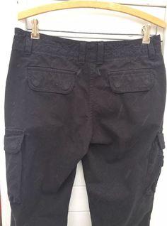 527db4dfc1d Lands End Women Cargo Pants Size 6 Black  LandsEnd  Cargo Lands End Women