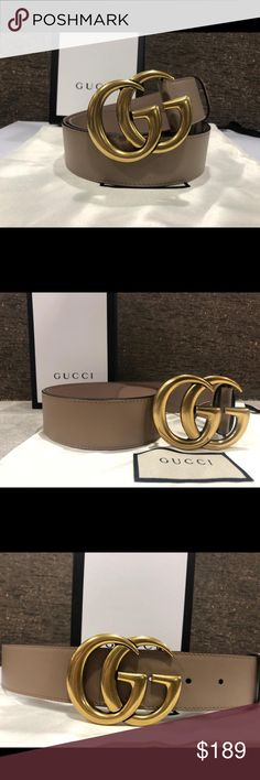 32dd78bf913 Gorgeous brand new pink brass Gucci belt Gucci belt Comes with dust bag  Gucci box and original tag Fast 2 day shipping Accessories Belts