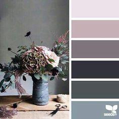 New shabby chic bedroom blue color palettes design seeds 70 ideas Paint Color Schemes, Colour Pallete, Paint Colors, Color Palettes, Color Combinations, Design Seeds, Bedroom Green, Bedroom Colors, Bedroom Ideas