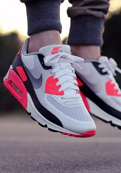 reputable site a531e 8ffc8 Nike Air Max 90 Infrared Air Time Nike Running, Runs Nike, Running Pants,