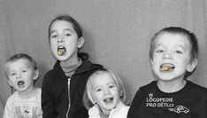 Logos, Speech Language Therapy, Candy, Logo