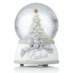 Festive Musical snow globe