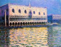 The Palazzo Ducale / Claude Monet - 1908