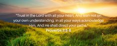 Proverbs 3 5 6, Google Images