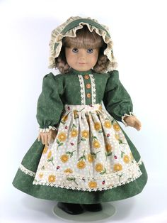 American Girl Doll Clothes Kirsten 1854 Prairie by LidiDesigns