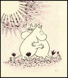 Moomintroll and Snorkmaiden Mumintrollet och Snorkfröken