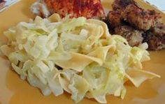 Noodles, Cabbage and Onions - Halushki