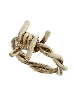 Barb Wire Ring-- how cool?!?