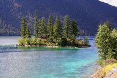 Pavilion Lake, BC - my family's island