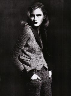 Paolo Roversi - Photographer  Jacob K - Fashion Editor/Stylist  Marc Lopez - Hair Stylist  Linda Cantello - Makeup Artist  Kori Richardson - Model