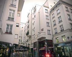 Paris III - rue Bernard de Clairveaux - Quartier de l'Horloge —…
