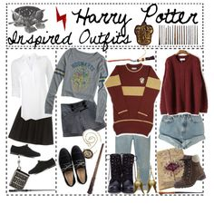 Pin by taylor brantley on harry potter essentials in 2019 га Harry Potter Kostüm, Harry Potter Cosplay, Harry Potter Outfits, Harry Potter Characters, Harry Potter Fashion, Casual Cosplay, Cosplay Outfits, Disney Outfits, Cute Outfits