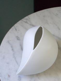 Rare Rosenthal Studio Line White Vase designed by Uta Feyl from  MidCenturyFLA