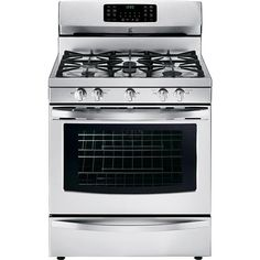 Kenmore 5.6 cu. ft. Gas Range w/ Convection Oven - Stainless Steel : null