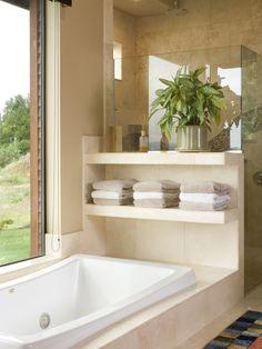 {bathtub shelf}