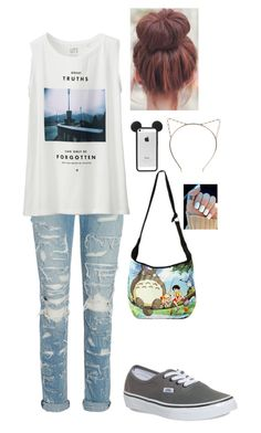 """Untitled #251"" by lushyou ❤ liked on Polyvore featuring rag & bone, Uniqlo, Vans, Ghibli, Boohoo, women's clothing, women's fashion, women, female and woman"