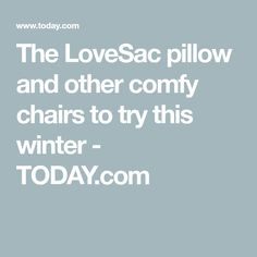 You definitely want to get in on the pillow chair action this winter. Comfy Armchair, Patterned Armchair, Metal Chairs, Swivel Chair, Cuddling, Pillows, Winter, Ideas, Metal Cafe Chairs