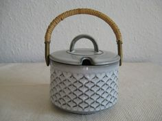 jam pot in cordial pattern for Bing and Grondahl