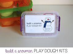 Build A Snowman Play Dough Kits ‹ Mama. Papa. Bubba.Mama. Papa. Bubba.