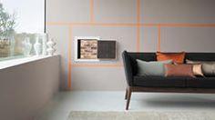 Flirtea con el color añadiendo toques de un naranja luminoso.