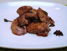 La Piccola Casa: Fegatini di pollo con cognac, anice stellato e sal...