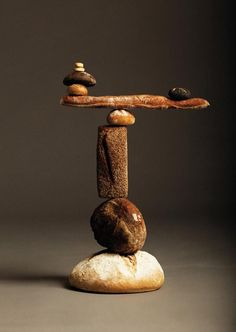 Stunning Bread Sculptures: Balancing Bread by Ana Dominguez and Omar Sosa