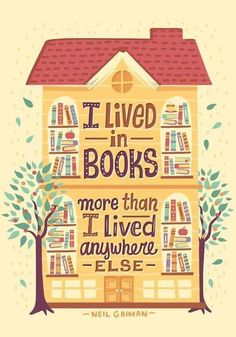 """Ebook Friendly — """"I lived in books more than I lived anywhere..."""