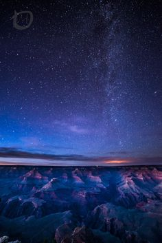 Stars over Grand Canyon by Martin Osiadly