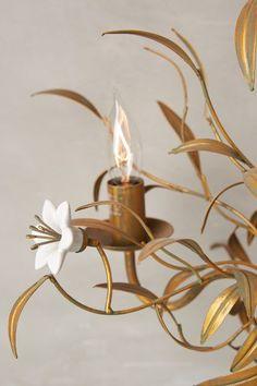 Burgeoning Blooms Chandelier - anthropologie.com #anthroregistry