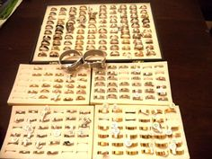 Lot of 216 stainless steel rings,three pair of earrings and two bracelets   Jewelry & Watches, Wholesale Lots, Rings   eBay!