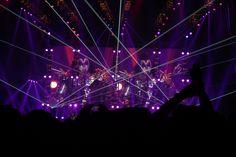 Recital de Kiss en Chile.