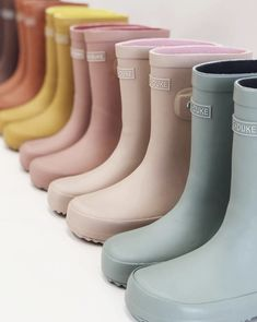 Our brand new Gumboot colours available now for PRE-ORDER and will ship in mid-late November!