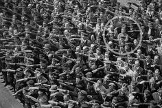 He has now been identified as August Landmesser, who was a member of the Nazi Party until 1935 when he married a Jewish woman.