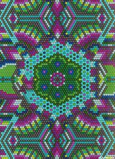 Beadwork - Primitive - Turquoise