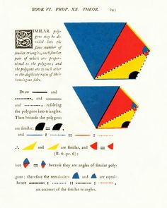 Euclid from book by oliver byrne