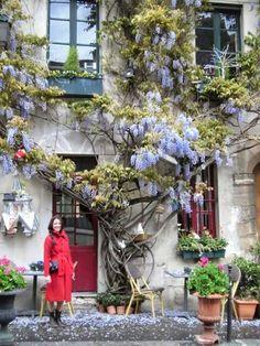París - Printemps Paris, Flower Beds, Ladder Decor, Flowers, Home Decor, Spring, Montmartre Paris, Decoration Home, Room Decor
