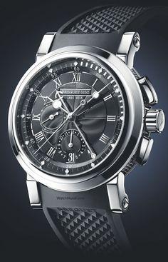"Breguet - Marine Chronographe ""200 ans de Marine"". Bicentenary of A-L Breguet's appointment as chronometer-maker to the navy."