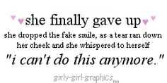 Emo Love Quote: girly-girl-graphics