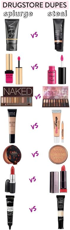 Drugstore Dupes