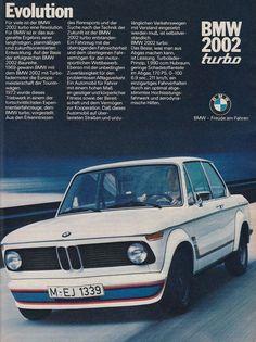 https://flic.kr/p/EPLvs1 | BMW 2002 Turbo | Publicité ancienne.