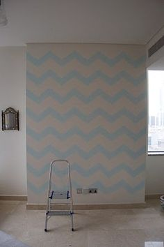 caitlin wilson design: style files: How to: Chevron Wall