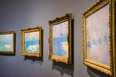 A special exhibition of paintings by Claude Monet at The Lower Belvedere Palace in Vienna, Austria. Baroque Architecture, Amazing Architecture, Winter Palace, Gustav Klimt, Claude Monet, Worlds Largest, Vienna Austria, Museums, Artwork