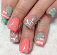 Another cute design!! #naildesign
