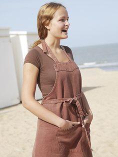#linen #apron