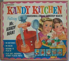 TRANSOGRAM: 1966 Kandy Kitchen Marshmallow and Gumdrop Maker #Vintage #Toys