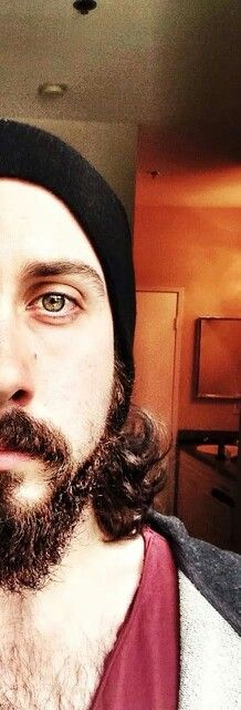 Oh my gootness. I didn't know Avi could be so beautiful up close