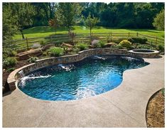 Having a pool sounds awesome especially if you are working with the best backyard pool landscaping ideas there is. How you design a proper backyard with a pool matters. Small Backyard Pools, Backyard Pool Landscaping, Backyard Pool Designs, Swimming Pools Backyard, Swimming Pool Designs, Outdoor Pool, Landscaping Ideas, Backyard Ideas, Acreage Landscaping