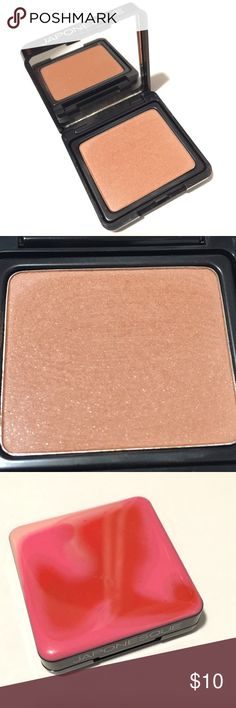 """Japonesque velvet touch blush shimmer contour One Japonesque Velvet Touch Blush in shade """"06"""" a shimmery brown / bronze color. Labeled as Blush but can be used for contouring as well, or eyeshadow! Tested 2x and cleaned. Great high-end beauty line! It's a very pretty earthy color. Japonesque Makeup Blush"""